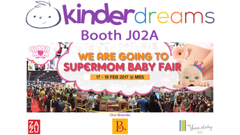 Kinder Dreams @ SuperMom Baby Fair from 17-19 February 2017