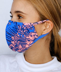 [MAAJI] Reversible Calm Air - Pack of 5 Unisex 3 ply Washable Reusable Adult Face Mask