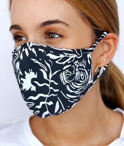[MAAJI] Reversible Life of Peace - Pack of 5 Unisex 3 ply Washable Reusable Adult Face Mask