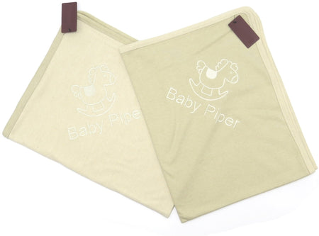 [Baby Piper] Blanket 100% Organic Cotton Dye-Free (1108) - Comes in 3 different colors