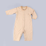 [Baby Piper] Long Sleeve & Pants Romper 100% Organic Cotton Dye Free (1114) - Tested Safe for Sensitive and Delicate Skin