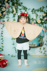 Baby Piper - Dye-Free Organic Cotton Cloak (1124)
