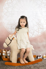 Baby Piper Round Neck Short Sleeve Dress (1132)