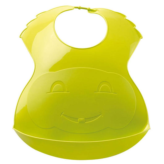 [Thermobaby] Soft Plastic Bib with Food Catch Tray, Made in France
