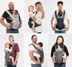 [Hugpapa] Dial-Fit 3-In-1 Hip Seat Baby Carrier (For Rent)