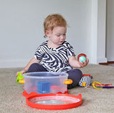 [B.Toys] Wee B. Ready Playtime Set with Soft Blocks and Teething Toys BX1386Z - 0months+