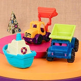 [B.Toys] Loaders & Floaters, Mini Vehicles 3 Piece Set BX1528Z - 18months+