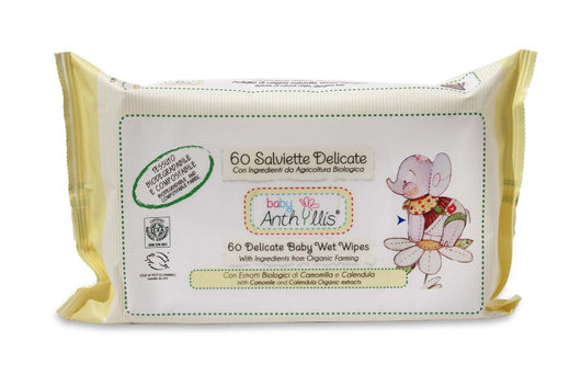 [Baby Anthyllis] Delicate Wet Wipes, 60 pieces