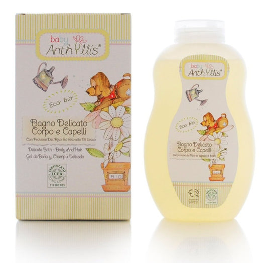 Baby Anthyllis Delicate Bath Foam For Body & Hair, 400ml