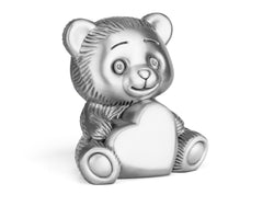 Zilverstad Money Box, Bear with Heart