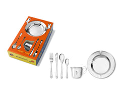 [Zilverstad] Children's Dinner Set Miffy, 6 pieces, Stainless Steel