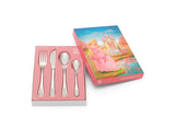 Zilverstad Children's Cutlery 4-pcs, Princess