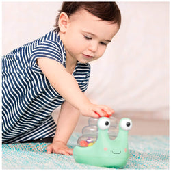 [B.Toys] Escar-Gloooow Light-Up Snail Popper BX1561Z - 10months+