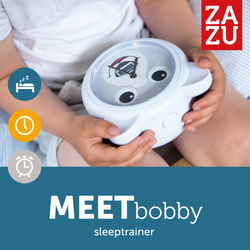 [Zazu] Sleep Trainer with Alarm Clock, Bobby the Bear - 3years+