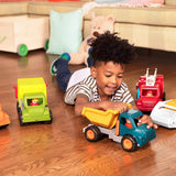 [Battat] Front End Loader Truck with Working Movable Parts and 1 Driver - Toy Trucks for Toddlers 18m+