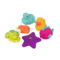 [Battat] Best Friend Bath Buddies Water Squirters 6 pcs set BT2602Z - 10months+