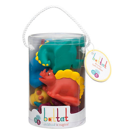[Battat] Dinosaur Bath Buddies Water Squirters 5 pcs set BT2604Z - 10months+