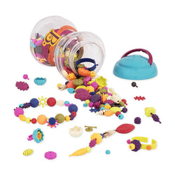 [B.Toys] Pop Arty Fashion Accessories Beads (300/500pieces) - 4years+
