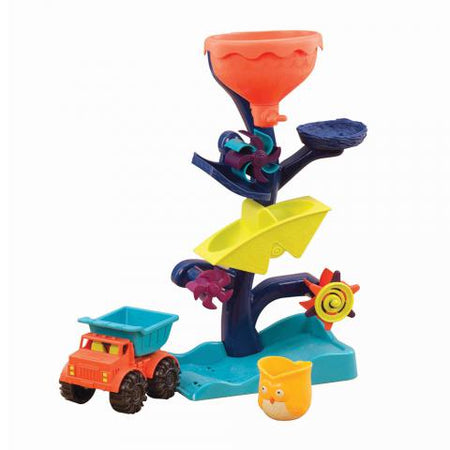 [B.Toys] Award Winner Owl About Waterfalls, Waterwheel Sand & Water Play BX1310Z - 18months+
