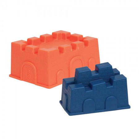 [B.Toys] Castle Molds 2 pieces Sand Play - 18months+