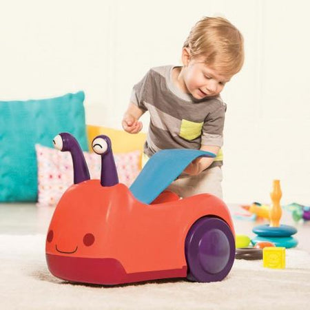 [B.Toys] Award Winning Buggly Wuggly Ride-On with Light & Sound BX1388Z - 1year+