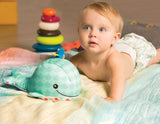 [B.Toys] Glow Zzzs Whalé, Glowable Whale with 4 Soothing Sounds BX1457Z - 0months+