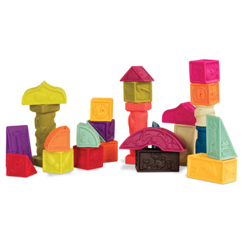 B.Toys - Soft Architectural Blocks, Elemenosqueeze