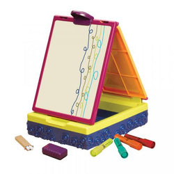 [B.Toys] Take It Easel, Portable Easel with Whiteboard and Chalkboard in One BX1487Z - 2years+