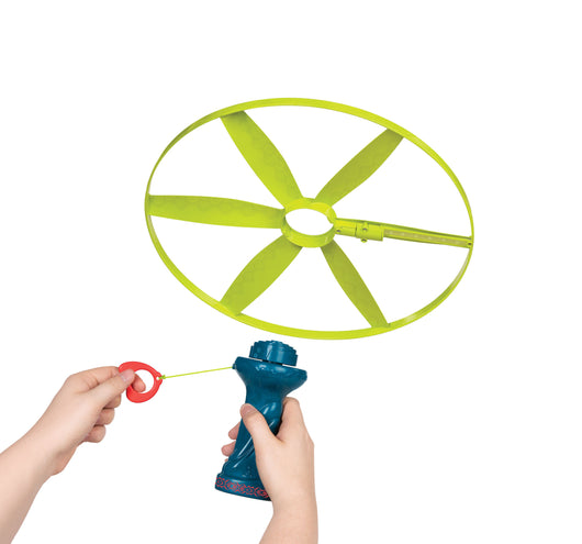 [B.Toys] Disc-Oh Flyers, Skyrocopter with Flying Light-Up Disc BX1592Z - 5years+