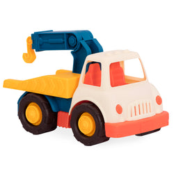 [B.Toys] Happy Cruisers - Tow Truck with Movable Parts Encourages Imaginative Play BX1721Z - 1year+