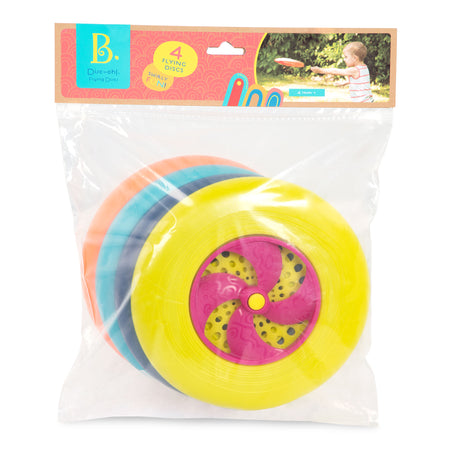 [B. Toys] Disc-Oh! Flying Discs - Frisbees 4 piece set