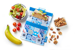 [Roll'Eat] Snack'n'Go Patchwork - Reusable Sandwiches / Snack / Food Bag, Dirty-Proof & Waterproof