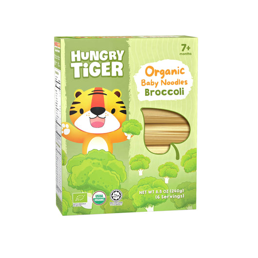[Hungry Tiger] Organic Baby Noodles Broccoli 7m+ (240g)