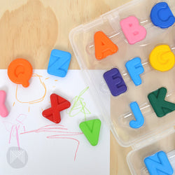 [MiCADOr] Early stART Alphabet Crayons 26 Pieces ECRABC - 2years+