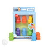 [MiCADOr] Early stART Zoo Crew Finger Crayons, Pack of 6 ECRZOO - 2years+
