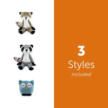 [Zazu] Wall Light Operated by Hand Gestures with Multiple Color, Auto Shut Off, Adjustable Brightness & 3 Soft Toys - 3years+