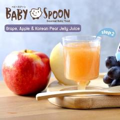 Baby Spoon Jelly Juices (Grape, Apple & Korean Pear)
