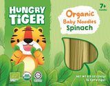 [Hungry Tiger] Organic Baby Noodles Spinach 7m+ (240g)