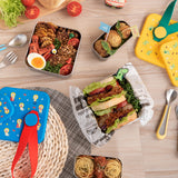 [VIIDA] The Joy Series Karrie Stainless Steel Lunch Box Set (2-in-1) with Leak-proof lid - LFGB Germany & Safe