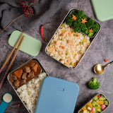 [VIIDA] The Morgen Series Kasten Stainless Steel Lunch Box Bento Set with Leak-proof lid - LFGB Germany & Safe, FDA & SGS Certified