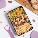 [VIIDA] The Morgen Series Kasten Stainless Steel Lunch Box (Small) with Leak-proof lid - LFGB Germany & Safe