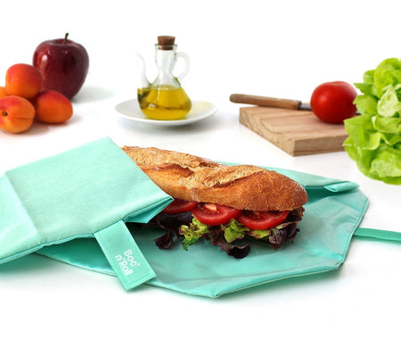 [Roll'Eat] Boc'n'Roll Eco - Reusable Sandwiches Food Wrappers, Dirty-Proof & Waterproof
