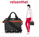 [Reisenthel] All Rounder Cross Bag - Top Handle with Adjustable Strap Structured Shoulder Carry - 4 designs