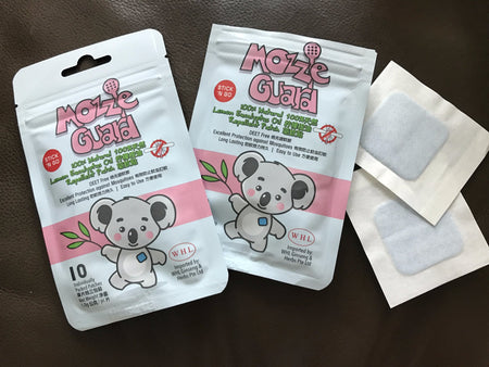 [Mozzie Guard] 100% Natural Lemon Eucalyptus Oil Mosquito Repellent Patch