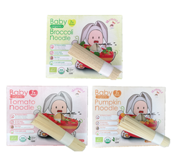 [MommyJ] Baby Organic Noodle 7m+ (40g x 5 bundles)