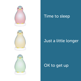 [Zazu] 3-in-1 Sleep Trainer Night Light with Wireless Bluetooth Function, Pam the Penguin - 0months+