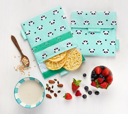 [Roll'Eat] Snack'n'Go Animal - Reusable Sandwiches / Snack / Food Bag, Dirty-Proof & Waterproof