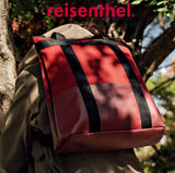 [Reisenthel] 2-in-1 Daypack Canvas Carrier Bag and Casual Rucksack with Laptop compartment - 4 colors available
