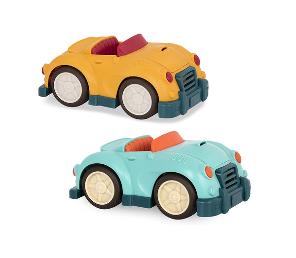 [Wonder Wheels by Battat] Roadster Vehicle Toy Car Encourages Imaginative Play - 1year+