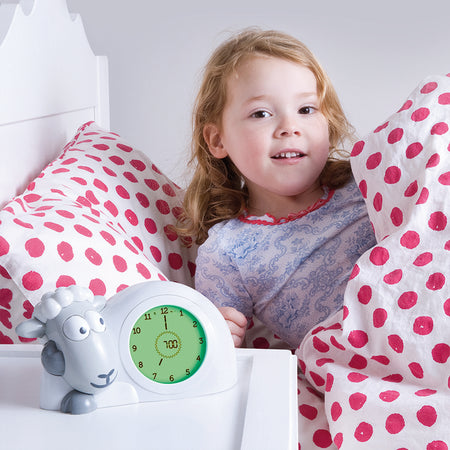 [Zazu] Sleep Trainer with Night Light and Alarm Clock, Sam the Lamb - 2years+